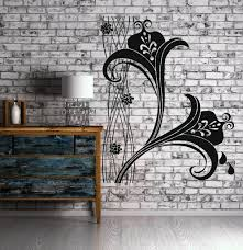 Wall Decals Patterns Color The by Vinyl Decal Abstract Color Pattern Ornament For Living Room Wall