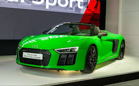 Audi R8 Top Speed - top 5 star cars at the 2017 goodwood festival of speed