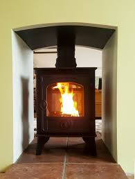 hunter hawk 4 double sided wood burning and multi fuel stoves