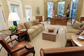 oval office layout trump official praises oval office makeover blames obama for