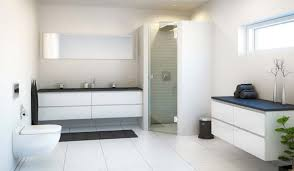 white bathroom floor tile ideas white tile bathroom source derosa builders fantastic bathroom