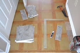 peel and stick floor tile look like wood cabinet hardware room