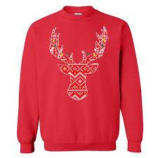 deer sweater 21 threads
