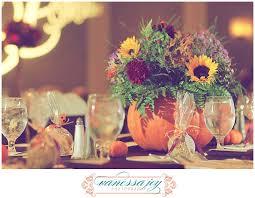 pumpkin flowers centerpiece nj wedding wedding flower ideas