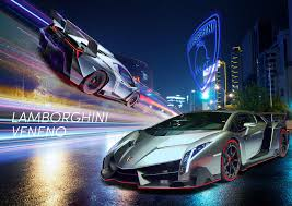 inside lamborghini at night photo collection lamborghini veneno blue wallpaper hd