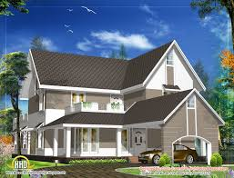sloping roof house design 3305 sq ft indian home decor roof home