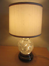 Waterford Table Lamps Waterford Crystal Table Lamps Ebay
