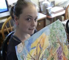 backyard art show to help schenectady woman fight disease the