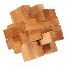 wooden puzzle vintage 3d wooden brain teaser puzzle us 3 89