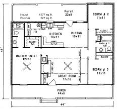 Floor Plans For Small Houses With 3 Bedrooms 16 Best Ranch House Plans Images On Pinterest Cool House Plans