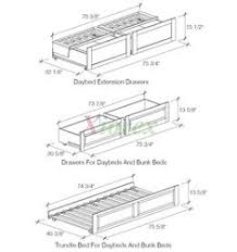 plans to build a daybed with trundle plans diy free download