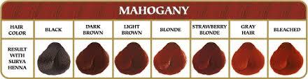 mahogany hair color chart surya brasil henna powder mahogany mynaturalmarket