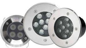 Well Lights Led In Ground Well Light 1 Watt Equivalent Stainless Steel