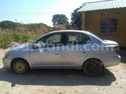 toyota platz car buy used toyota platz silver car in luanshya in zambia caryandi