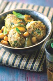 cuisiner pois chiches recette tajine de boulettes et pois chiches