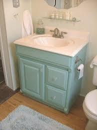 paint bathroom vanity ideas painted aqua bathroom vanity featheryboa bath ideas juxtapost