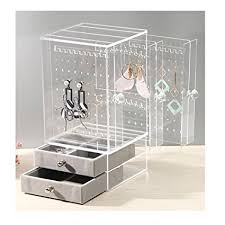 necklace earring display box images Biutee jewelry box for women jewelry organizer jpg
