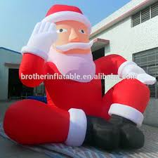 christmas inflatables 20ft christmas santa homer santa