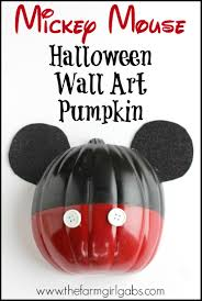 Mickey Mouse Halloween T Shirts by Mickey Mouse Halloween Wall Art Pumpkin
