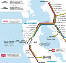 Bart Lines Map by Transportation Sjsu Ts Sjsu Twitter