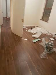 Sale Laminate Flooring 9 Packs Of Virginia Walnut Krono Laminate Flooring For Quick Sale