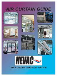 air curtain guide design hvac heating ventilating and air