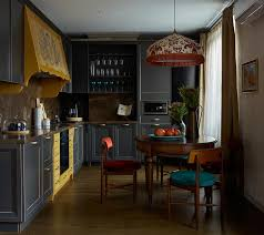 asian style kitchen cabinets ethnic apartment inspired by portuguese central asian motifs