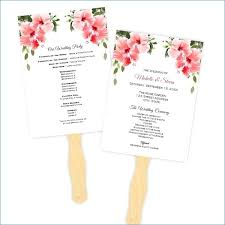 wedding fans template wedding programs fans templates hondaarti net