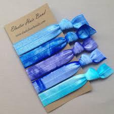 elastic hair ties the blue sea hair tie collection 5 elastic hair ties by elastic