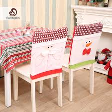 snowman chair covers parkshin christmas snowman chair covers christmas decorations