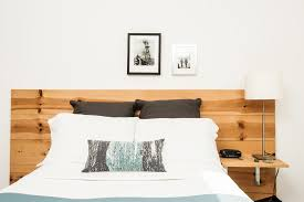 Floating Headboard With Nightstands by Bedroom Cantilevered Nightstand Bedroom Contemporary With Built