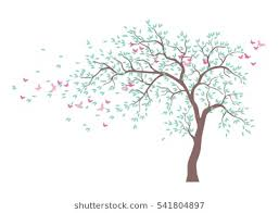 butterfly tree stock images royalty free images vectors