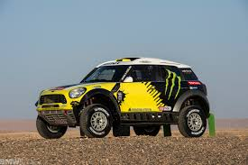 bmw rally off road 2014 rally dakar mini all4 racing