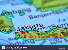 Map Of Jakarta Jakarta Map Stock Photos U0026 Jakarta Map Stock Images Alamy