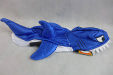 Halloween Costumes Shark Fetchwear Dog Halloween Blue Shark Costume Size Medium Beagle