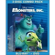monsters blu ray dvd widescreen walmart