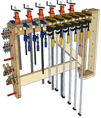 Wood Clamp Storage Rack Plans by 139 Swivel Clamp Storage 3d Woodworking Plans
