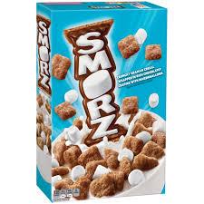 Breakfast Food Cereal Walmart Com by Kellogg U0027s Smorz Cold Cereal 10 2 Oz Box Walmart Com