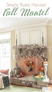 fall fireplace mantel decorating ideas atta says