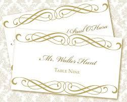 Wedding Place Cards Template 9 Best Images Of Printable Wedding Place Card Templates Wedding