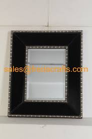 metal home decor wholesale quality metal wall mirrors art manufacturer fancy design black