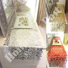 gold christmas table runner christmas table runner ebay