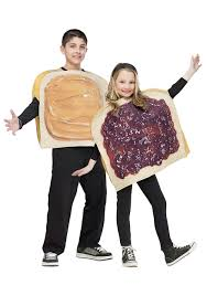 Food Costumes Kids Food Drink Child Peanut Butter Jelly Costume