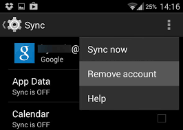 remove account android how to add a second gmail account to android