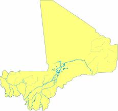 Map Of Mali Mali Rivers Detailed U2022 Mapsof Net