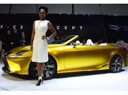 lexus lf c2 lexus lf c2 concept cabrio studie auf der la auto show 2014