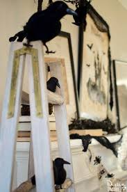 5 minute halloween mantel design dazzle