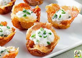 goats cheese canape recipes amazing prosciutto cups appetizer with goat cheese mousse this
