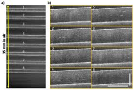 osa space division multiplexing optical coherence tomography