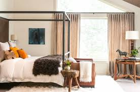 wrought iron canopy bed frames decorate a half wrought iron
